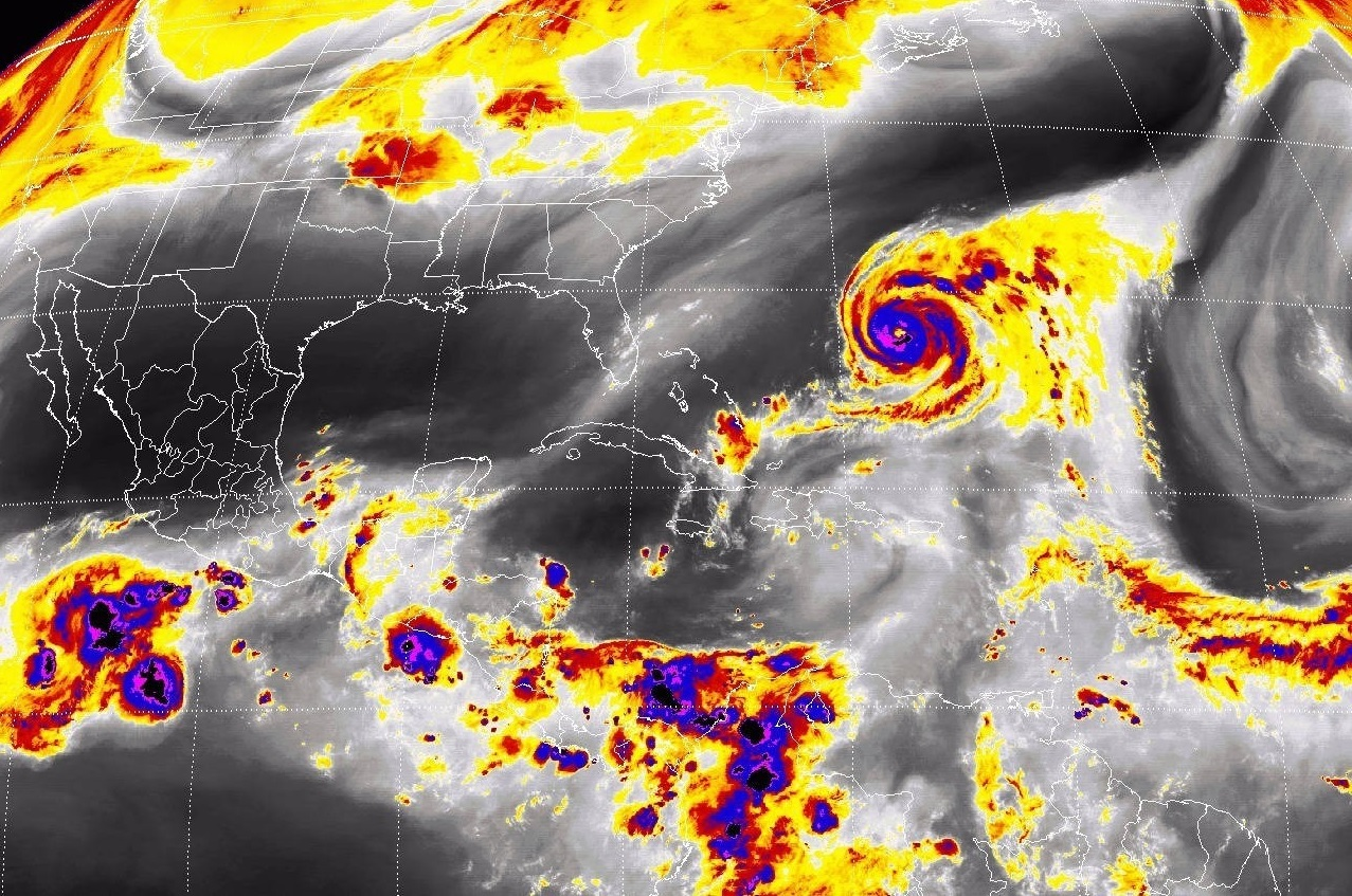 Tormentas puntuales muy fuertes, se prevén en regiones de Chiapas, Tabasco, Veracruz, Oaxaca y Puebla