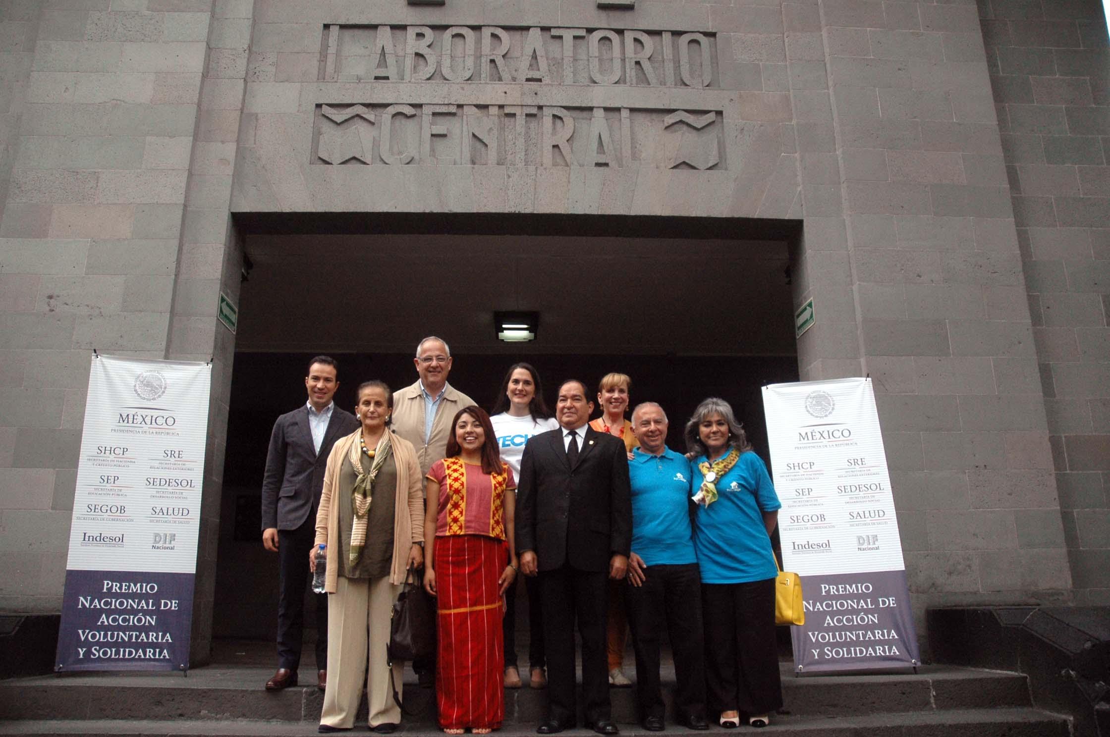 Premio Nacional de Acción Voluntaria y Solidaria 2015