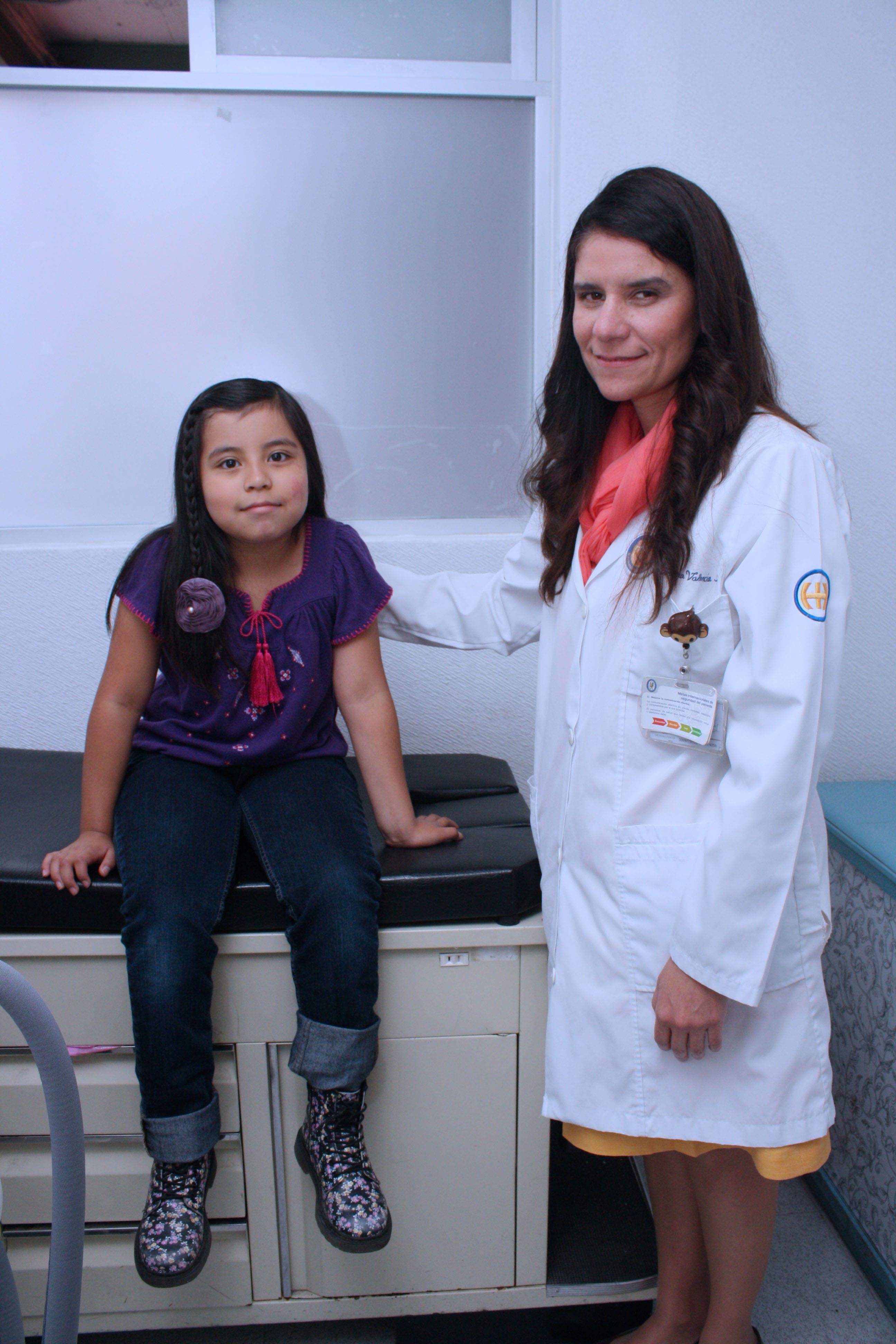 """El Hospital Infantil de México """"Federico Gómez"""", cuenta con la única clínica de láser vascular pediátrico en todo el sector salud"""