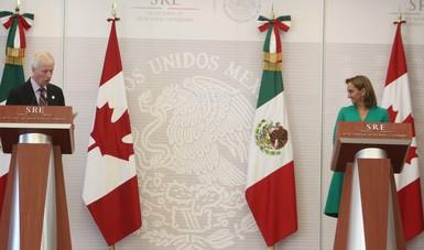 Primera reunión del Diálogo Estratégico de Alto Nivel México-Canadá (DESAN).