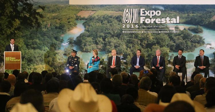 Inauguración de la Expo Forestal 2016