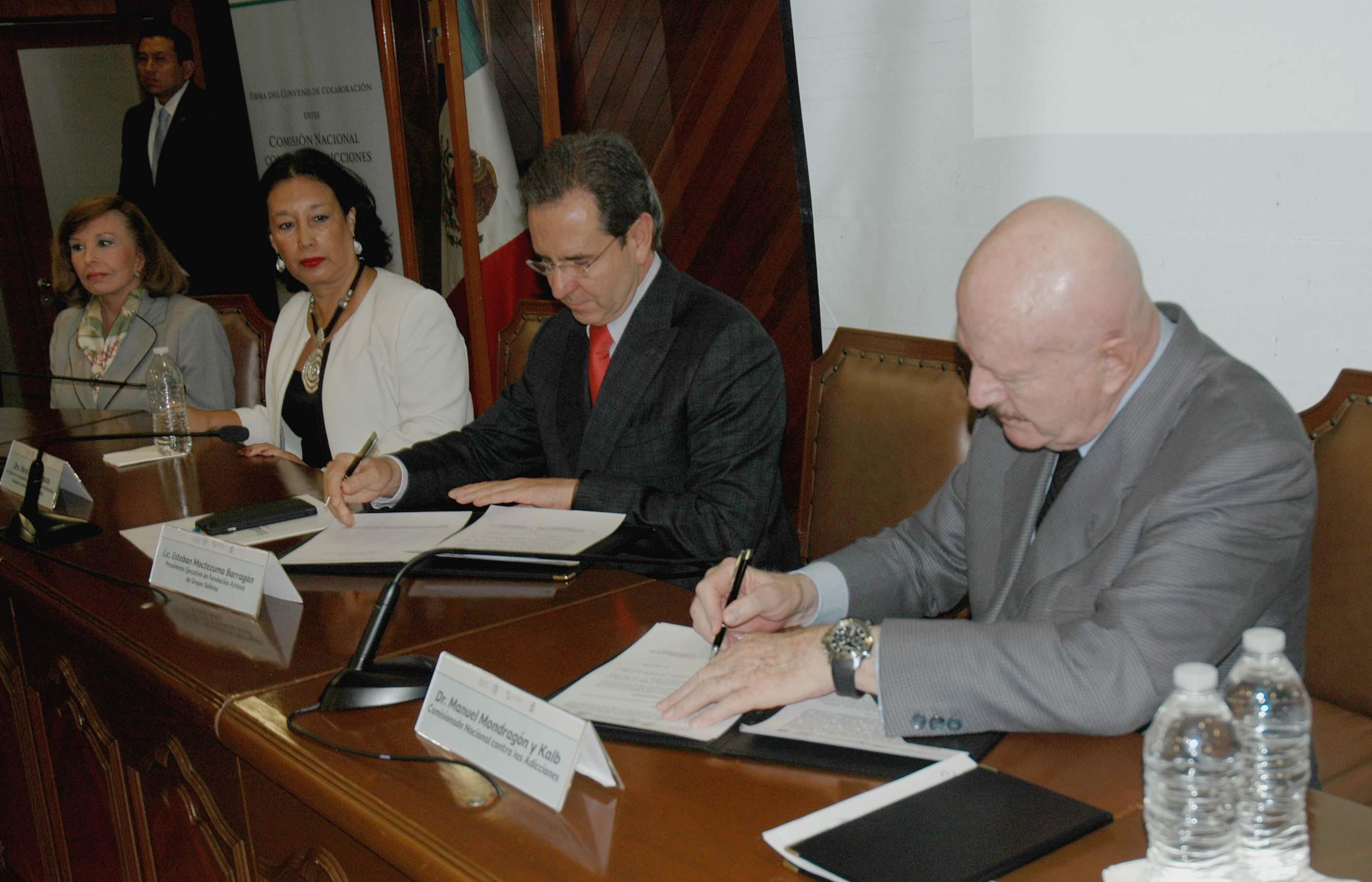 CONADIC firmó un convenio de colaboración con Fundación Azteca de Grupo Salinas