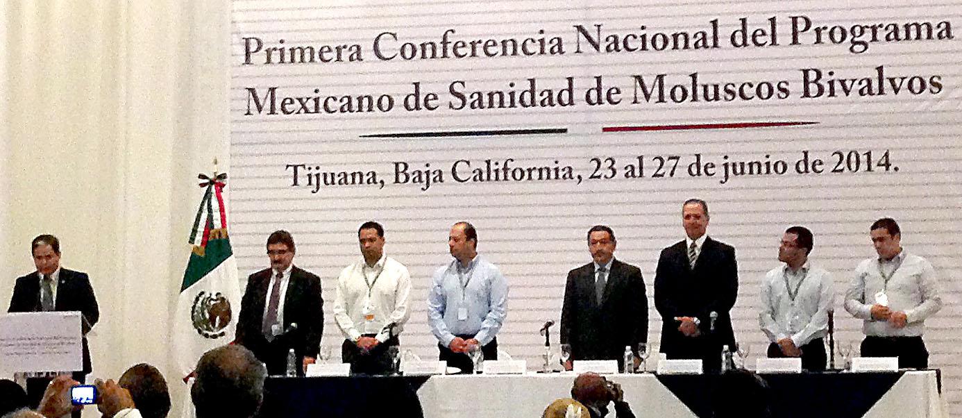 Primera Conferencia del Programa Mexicano de Sanidad de Moluscos Bivalvos