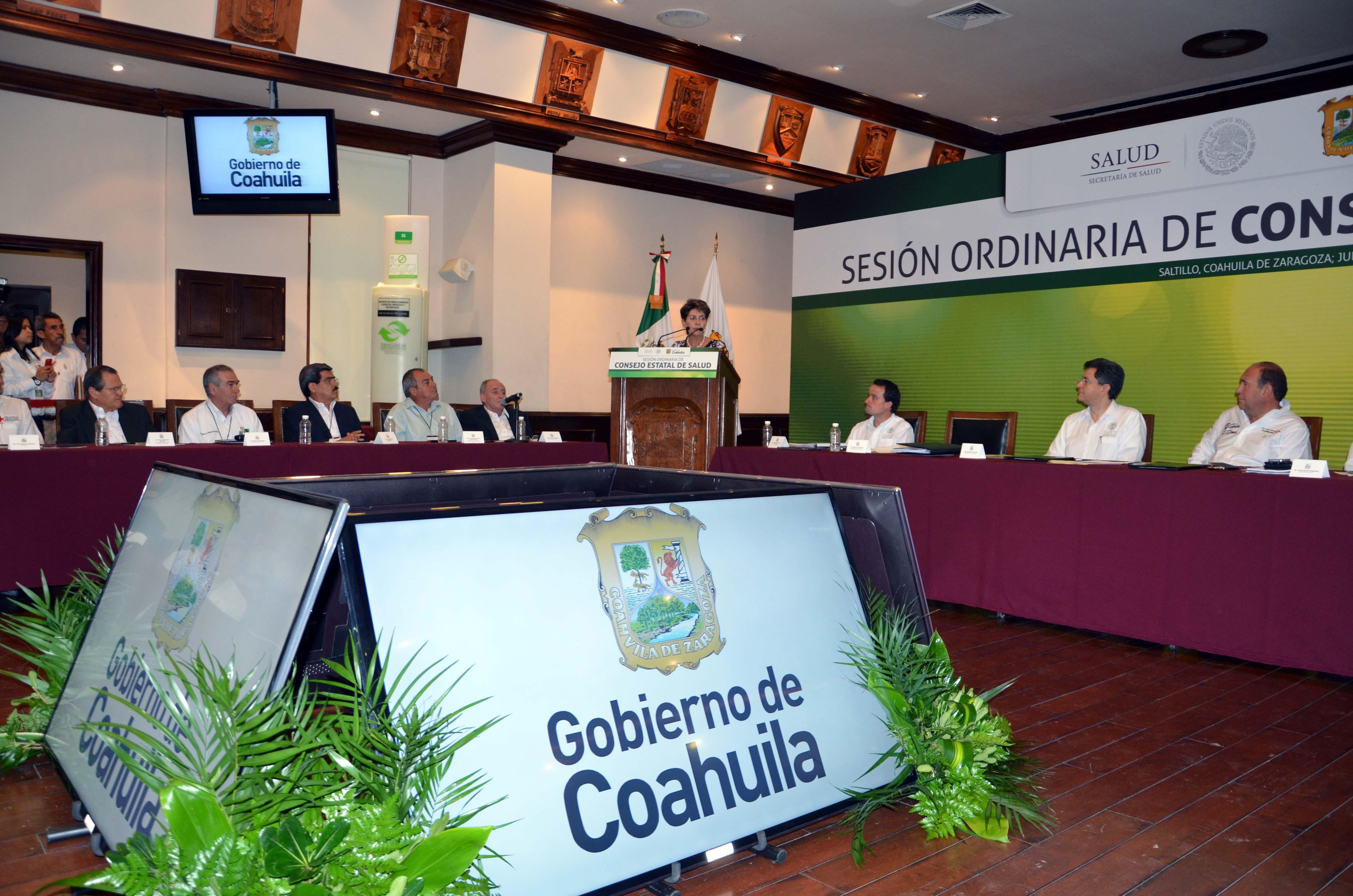 Sesión Ordinaria del Consejo Estatal de Salud