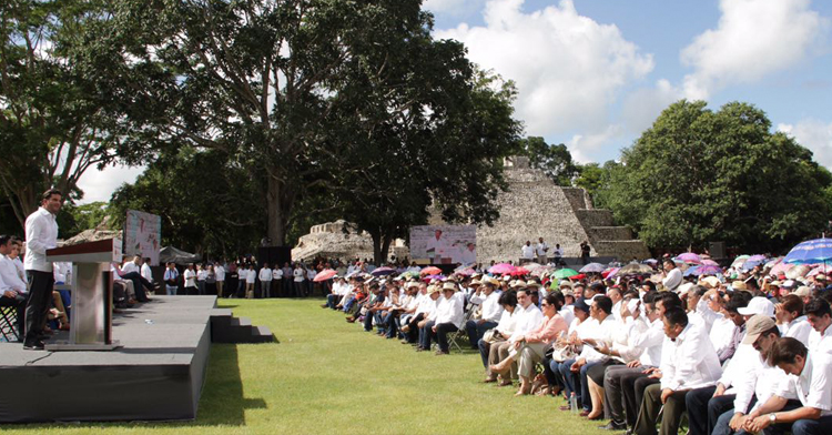 Inauguración de la Feria de Seguridad Alimentaria y Nutricional, Campeche.