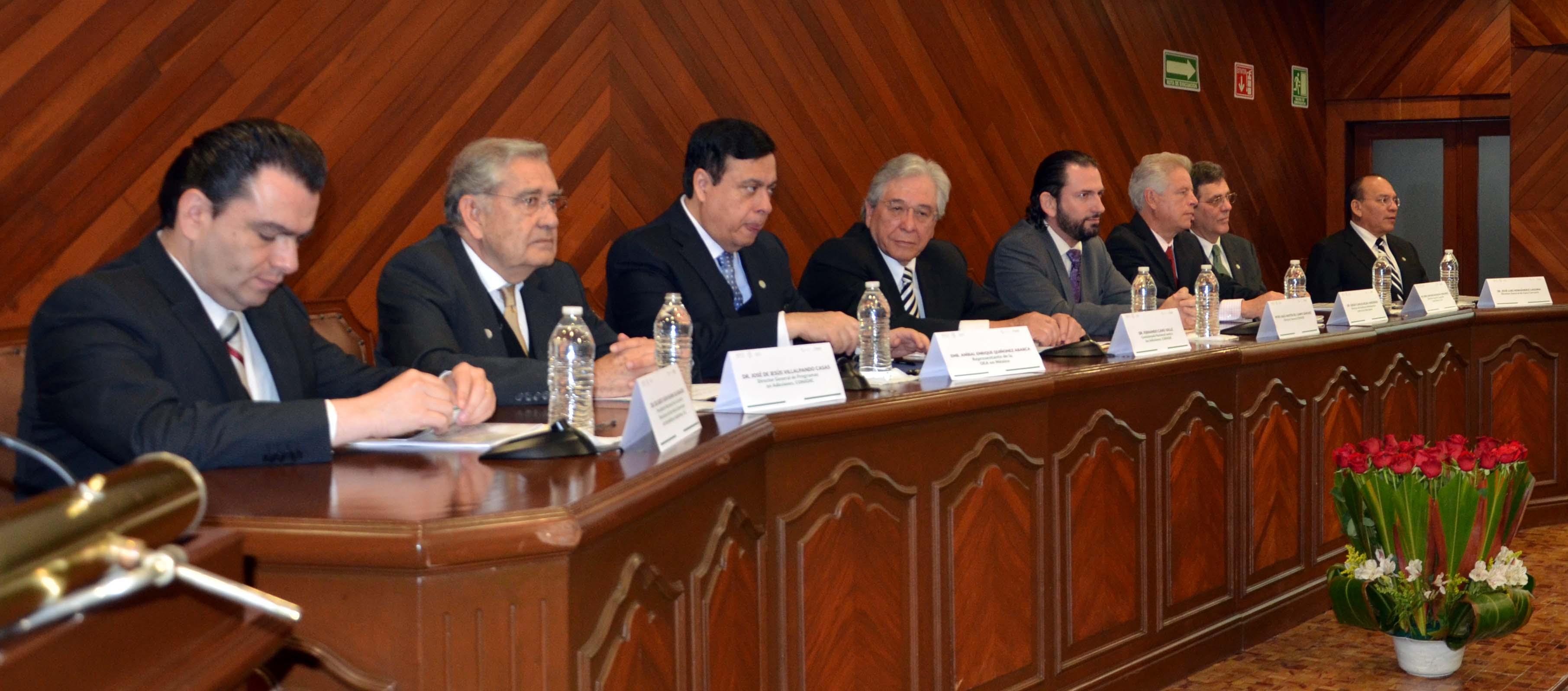 Estándar Mexicano de Competencias de la Consejería en Adicciones.