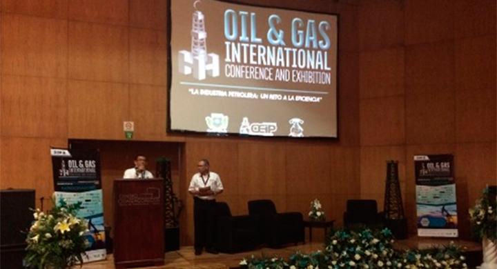 """El SGM en el evento """"Oil & Gas International Conference and Exhibition"""" (ITESCO)"""