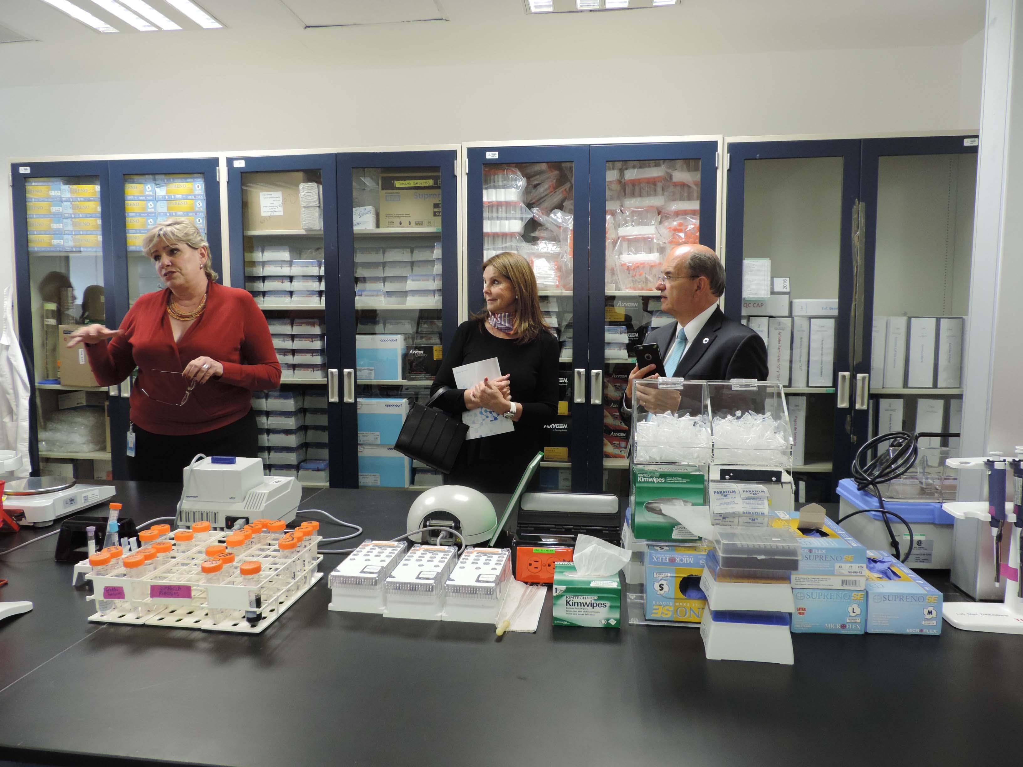 Inaugura INMEGEN laboratorio de diagnóstico genómico