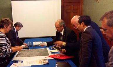 Reunión con la Presidenta del Municipio de Pachuca