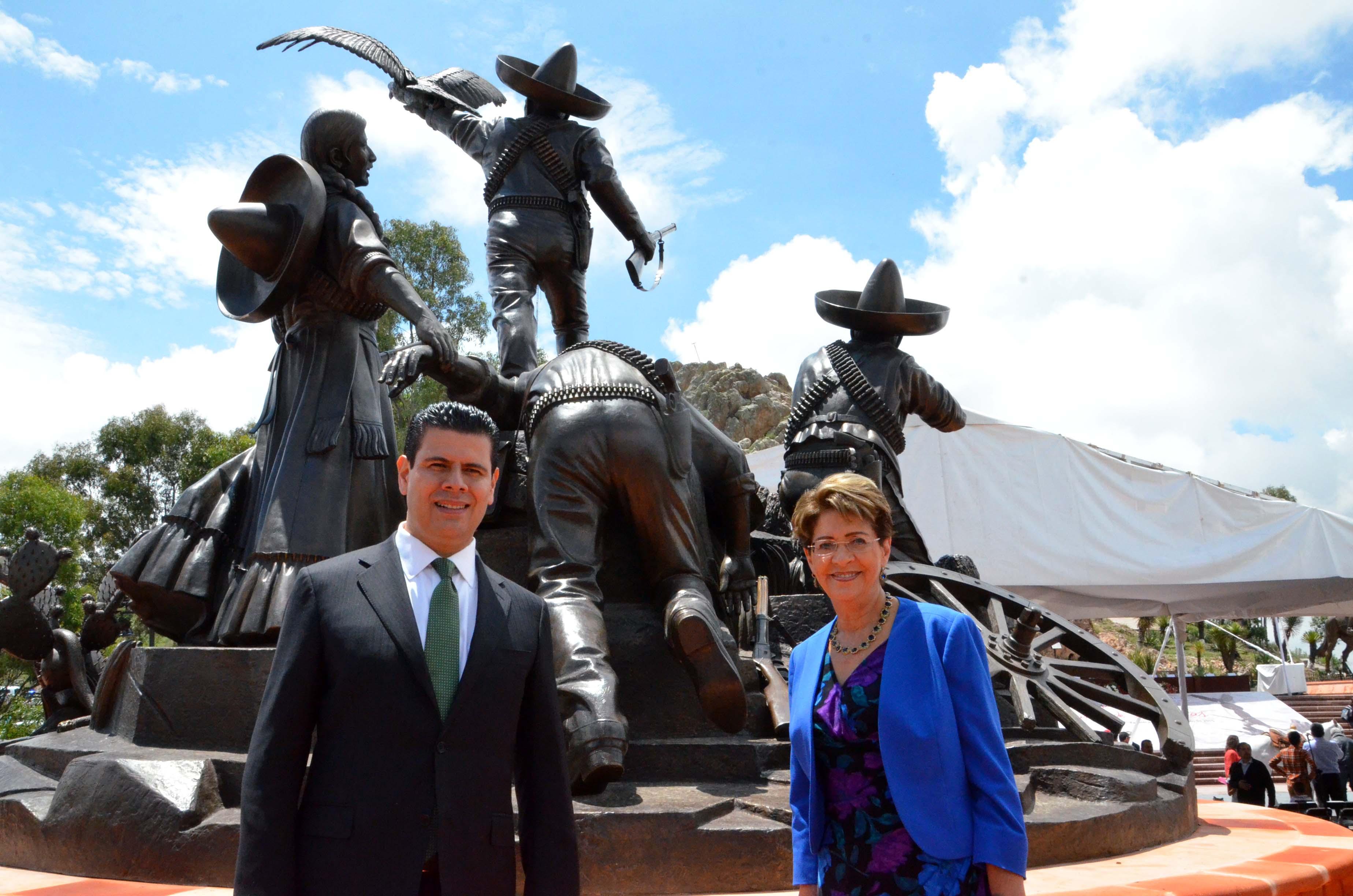 Conmemoración del 101 Aniversario de la Toma de Zacatecas