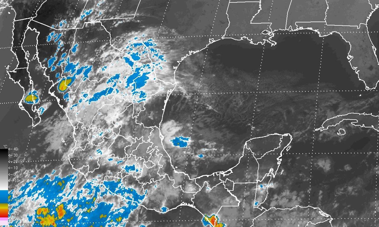 Se prevén tormentas muy fuertes en Hidalgo, Puebla, Veracruz, Oaxaca y Chiapas