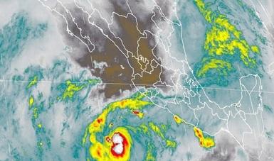 Tormentas intensas, se pronostican para zonas de Veracruz, y muy fuertes en regiones de Chiapas