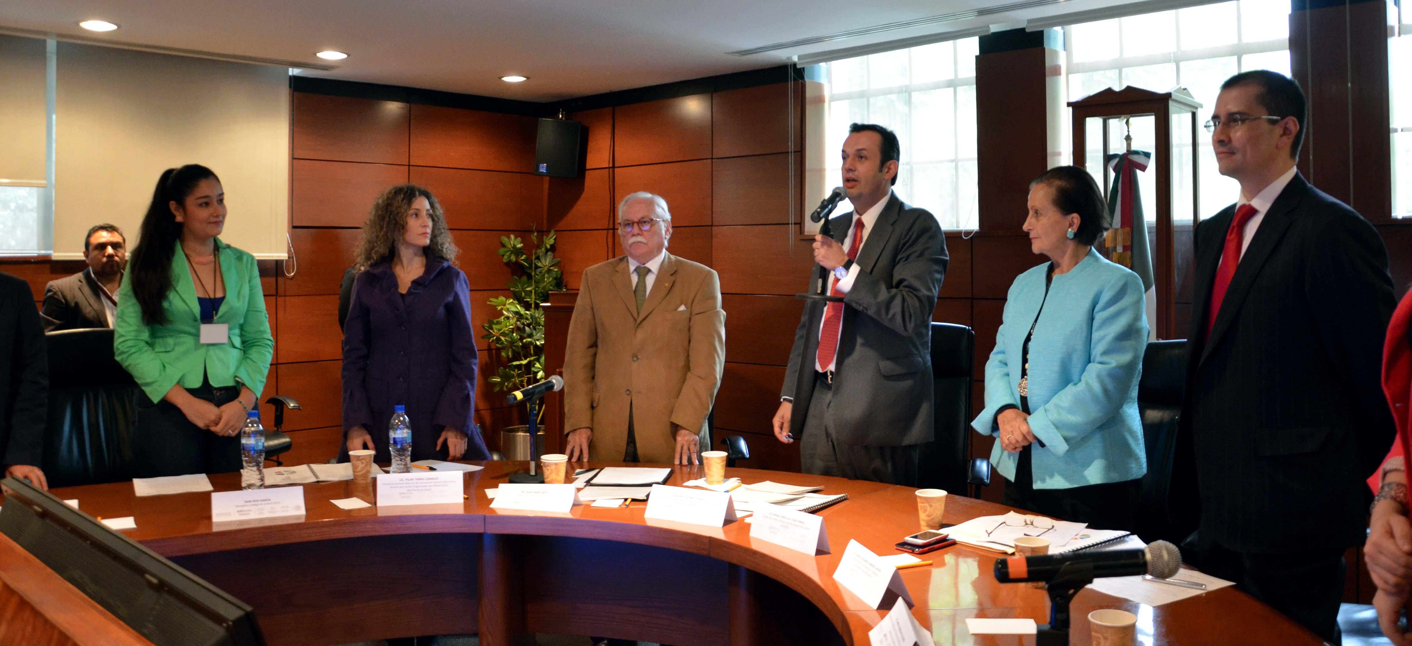Sesión de Instalación del Jurado Calificador del Premio Nacional de Acción Solidaria y Voluntaria 2014