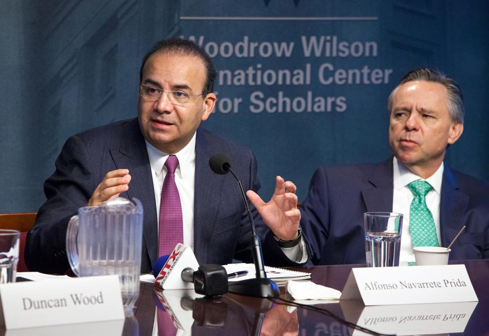 El Secretario del Trabajo y Previsión Social dictó una conferencia sobre las reformas estructurales en México, durante su gira de trabajo por Washington, D.C.
