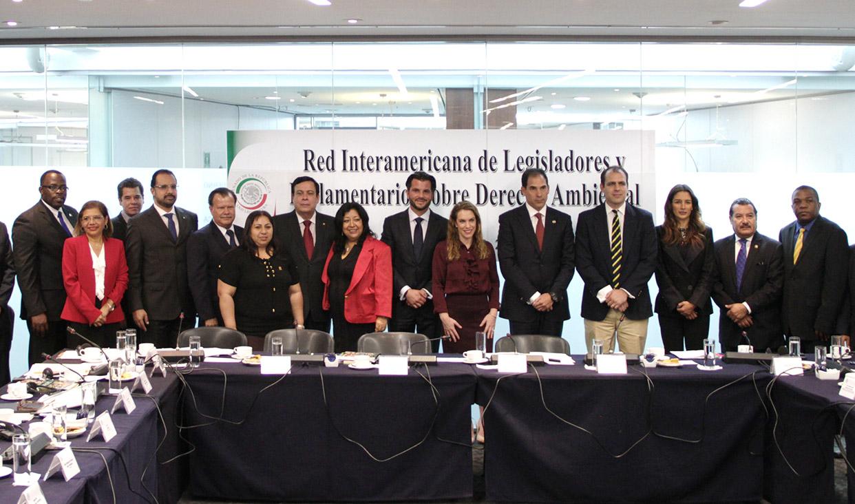 Instalación de la Red Interamericana de Legisladores y Parlamentarios sobre Derecho Ambiental para América Latina y el Caribe.