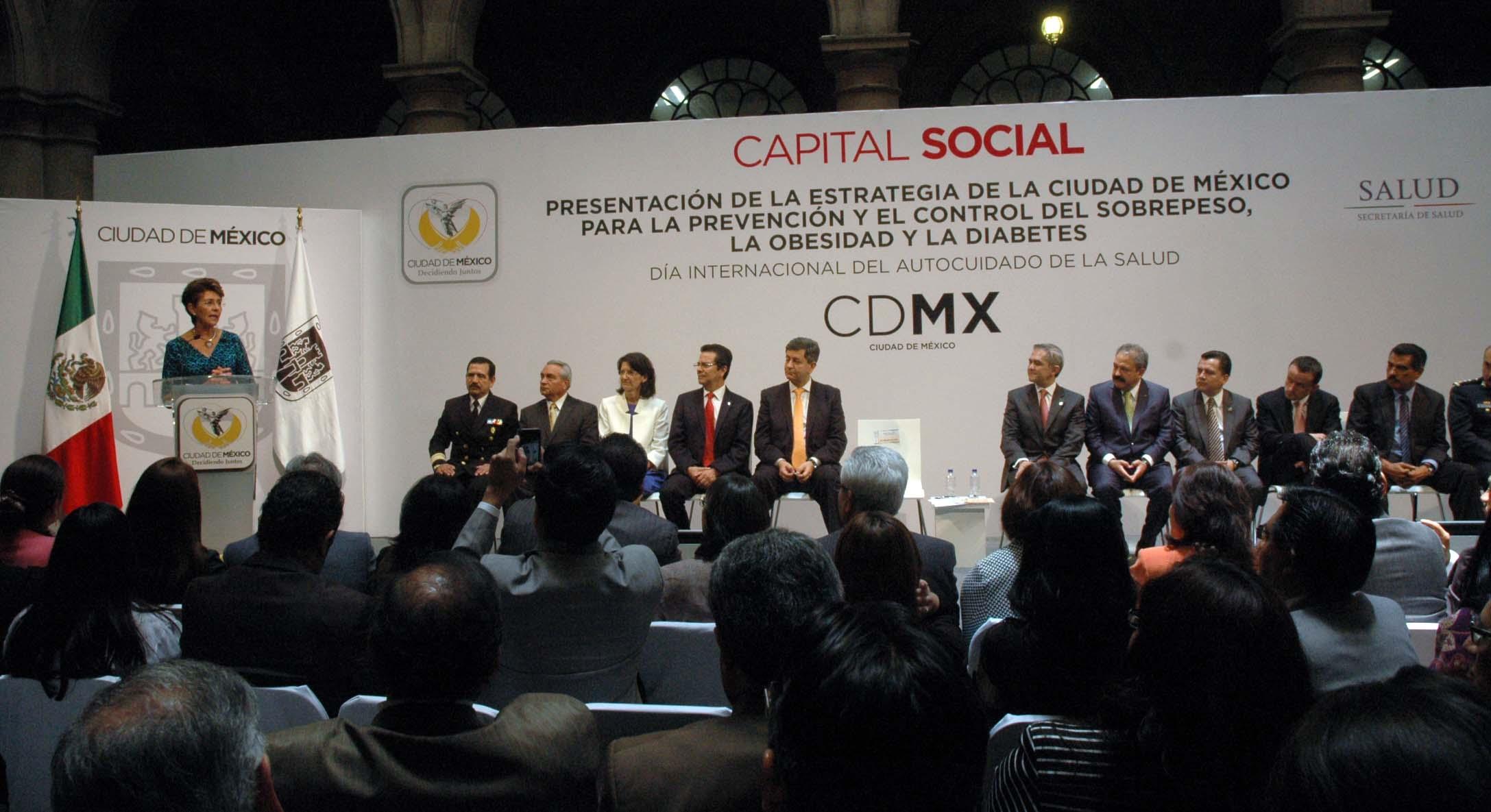 Estrategia de la Ciudad de México para la Prevención y el Control de Sobrepeso, Obesidad y Diabetes