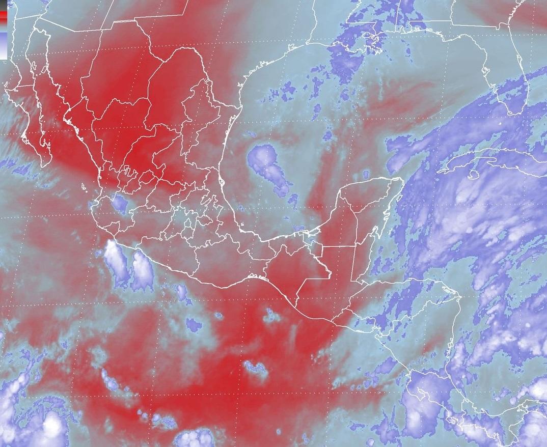 Se pronostican tormentas fuertes en regiones de Veracruz, Tabasco, Oaxaca, Chiapas y Quintana Roo