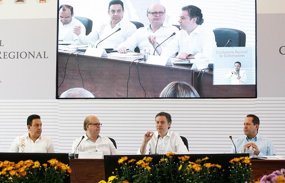 Evalúan secretario de Educación Pública y gobernadores avances de programas de la Reforma.