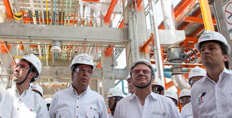 """Inauguración de la Planta Recuperadora de Azufre en la refinería """"Ing. Antonio M. Amor"""""""