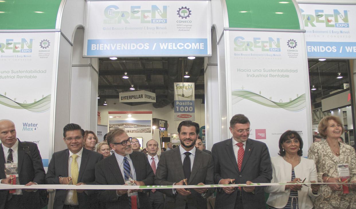 Inauguración The Green Expo en la Ciudad de México.