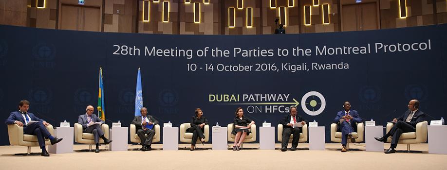 Participa México en la 28ª Reunión de las Partes del Protocolo de Montreal que se realizó en Kigali, Ruanda.