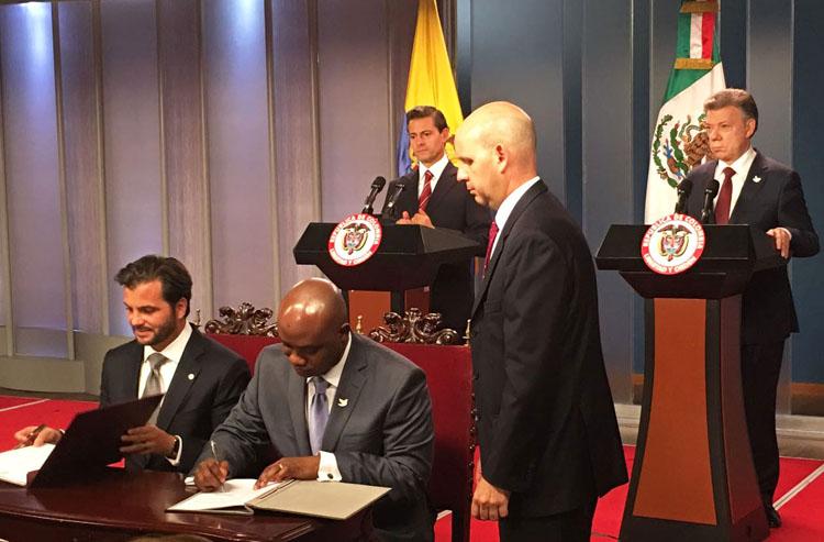 México y Colombia promueven acciones de sustentabilidad para la region