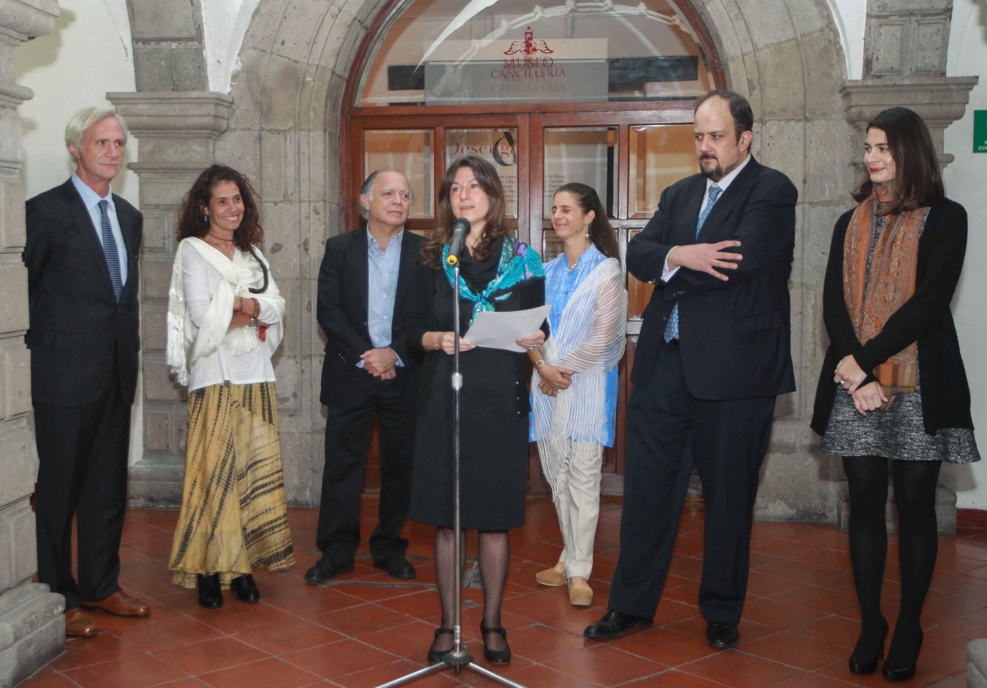 La Secretaría de Relaciones Exteriores (SRE) a través del Instituto Matías Romero y el Museo de la Cancillería inauguraron el día de hoy, tres exposiciones de diferentes artistas contemporáneos mexicanos que podrán ser visitadas hasta al 15 de diciembre d