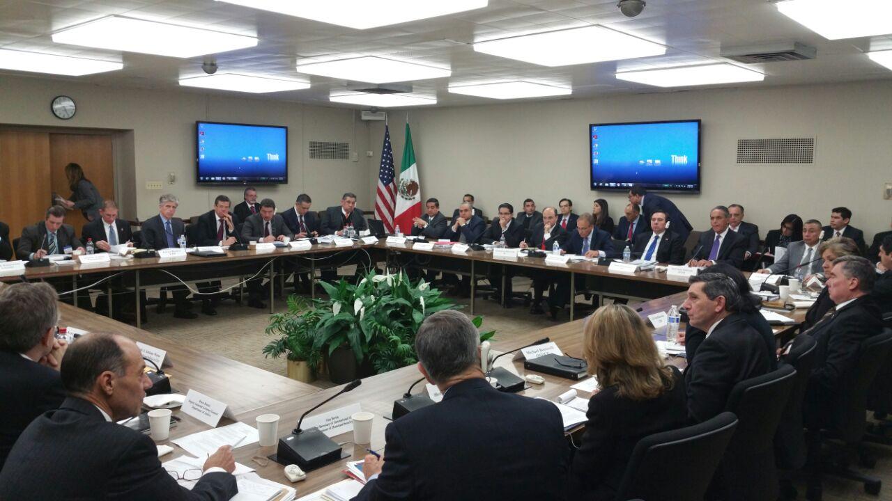 Se llevó a cabo Segunda reunión de trabajo del Grupo Bilateral sobre Cooperación en Seguridad México-Estados Unidos, en la ciudad de Washington, D.C., Estados Unidos.