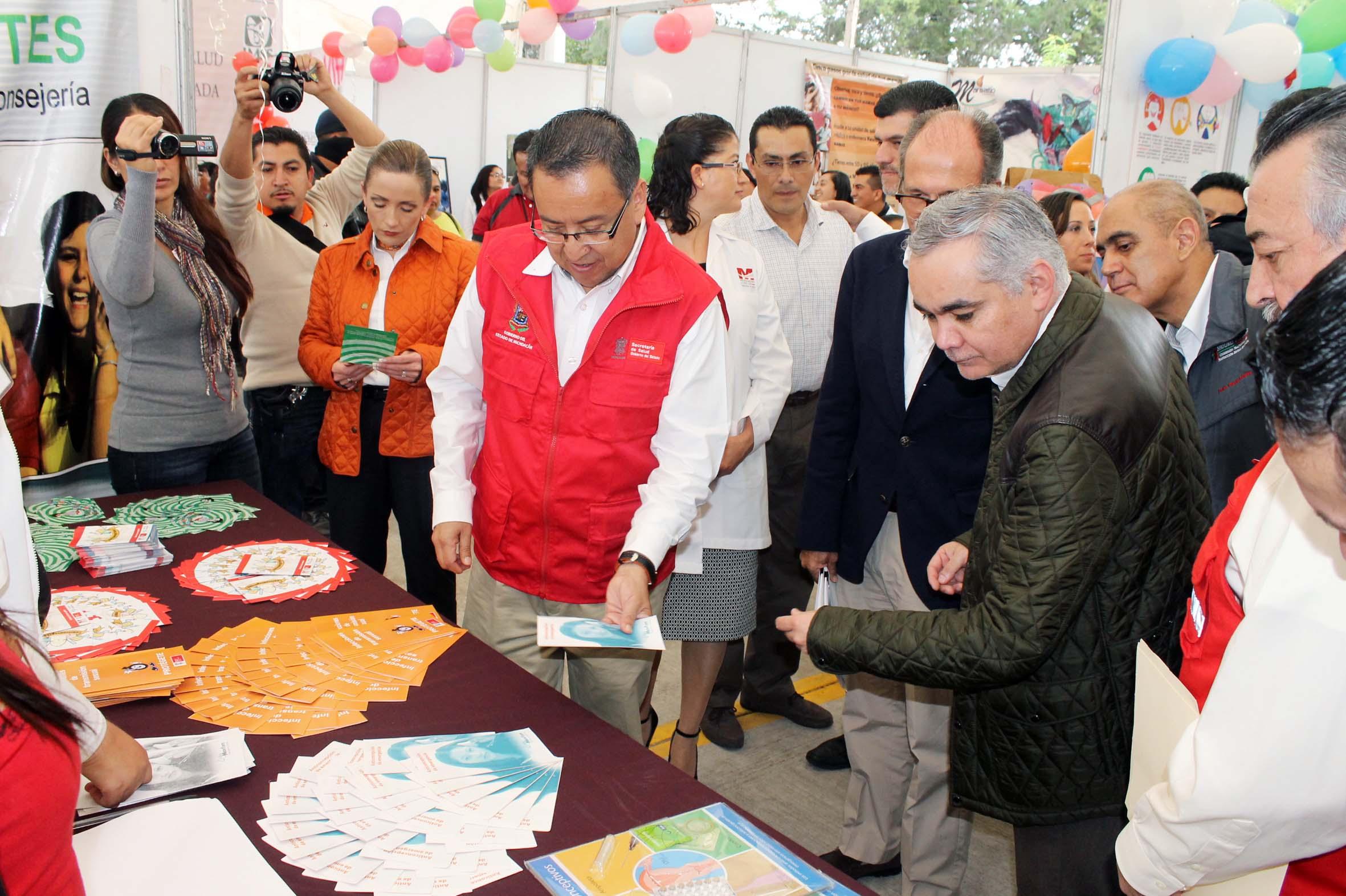 En Michoacán, la federación, el estado y los municipios conjuntan esfuerzos en materia de Salud