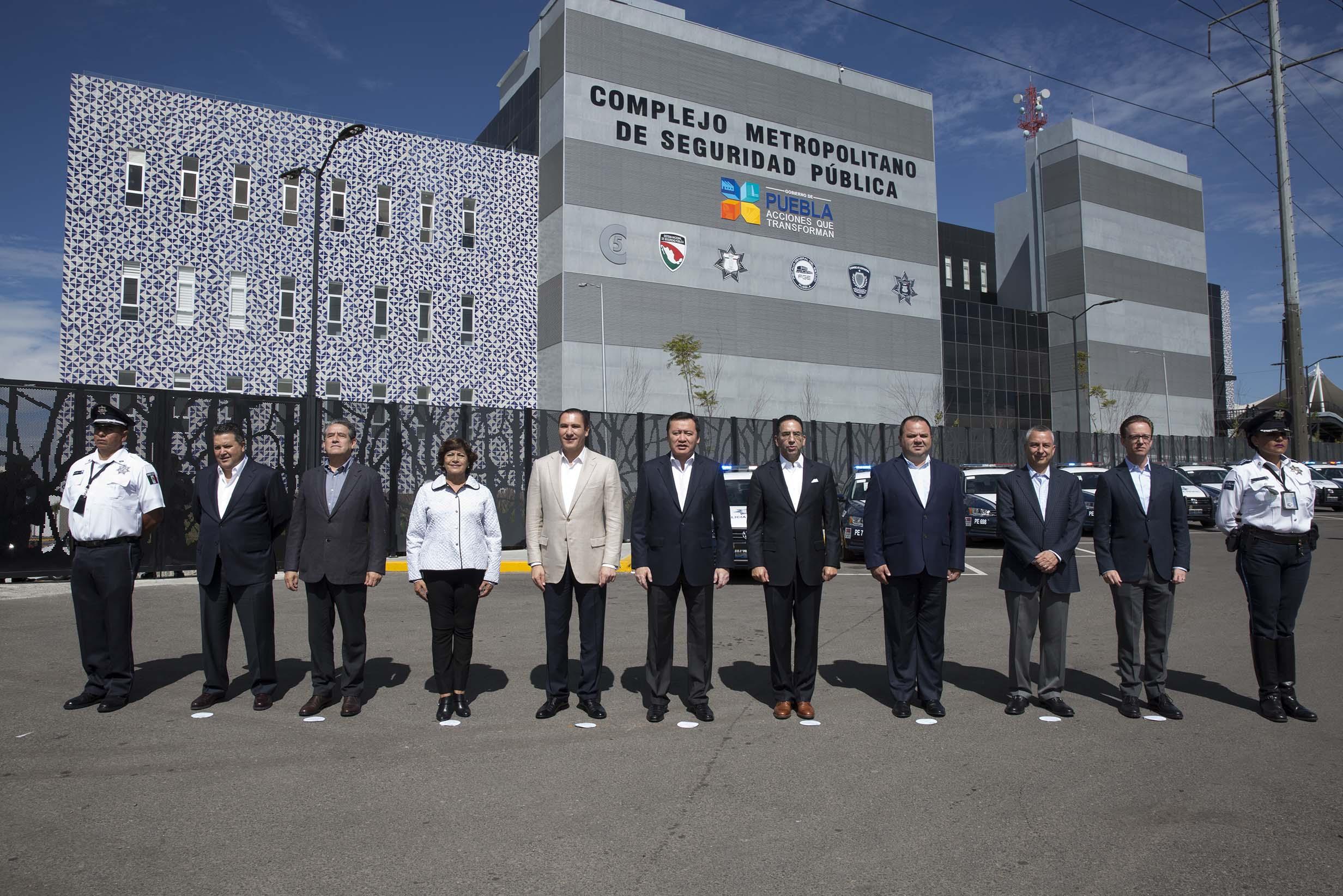 Inauguración del C 5 Puebla