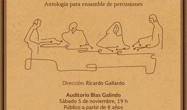 Ricardo Gallardo, director artístico de Tambuco, indicó en entrevista que las obras que componen la antología tienen un estilo propio y particular, seleccionadas de entre 150 composiciones