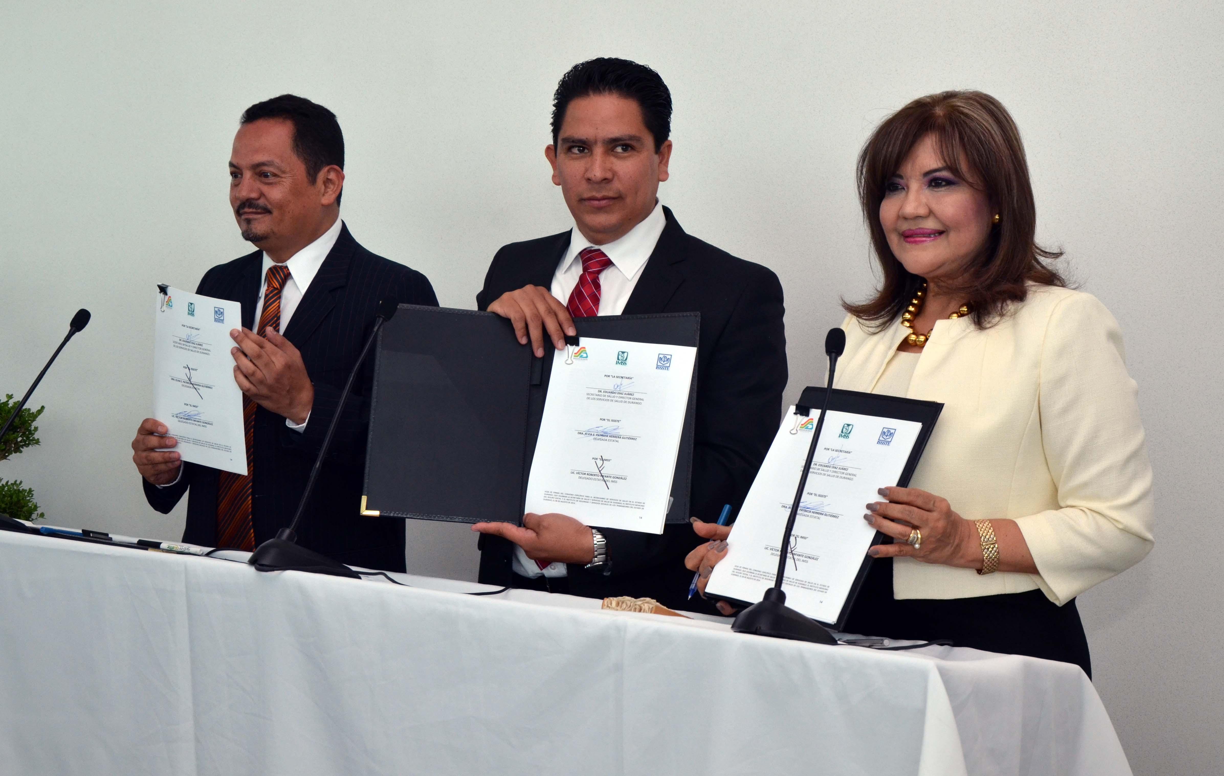 Durango pionero en intercambio de servicios de salud