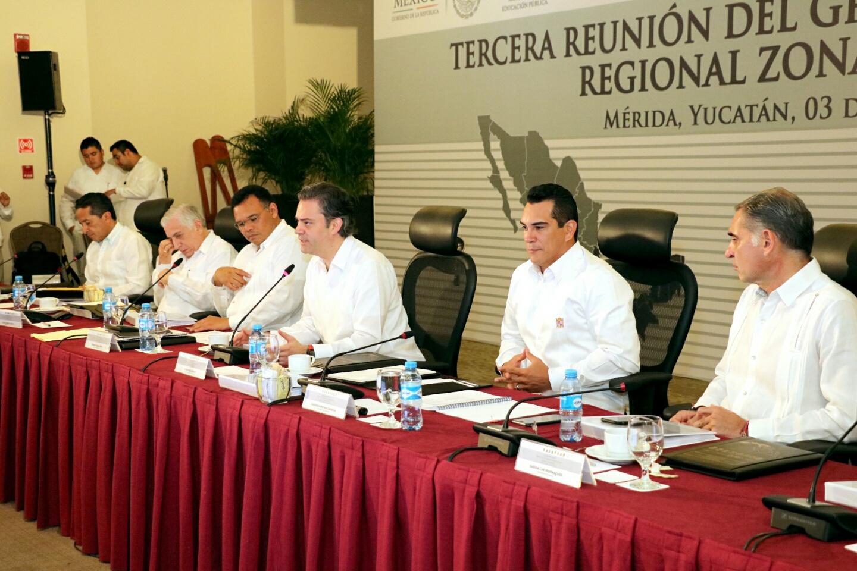 Conferencia de prensa al término de la Tercera Reunión del Grupo de Coordinación Regional Zona Sur-Sureste