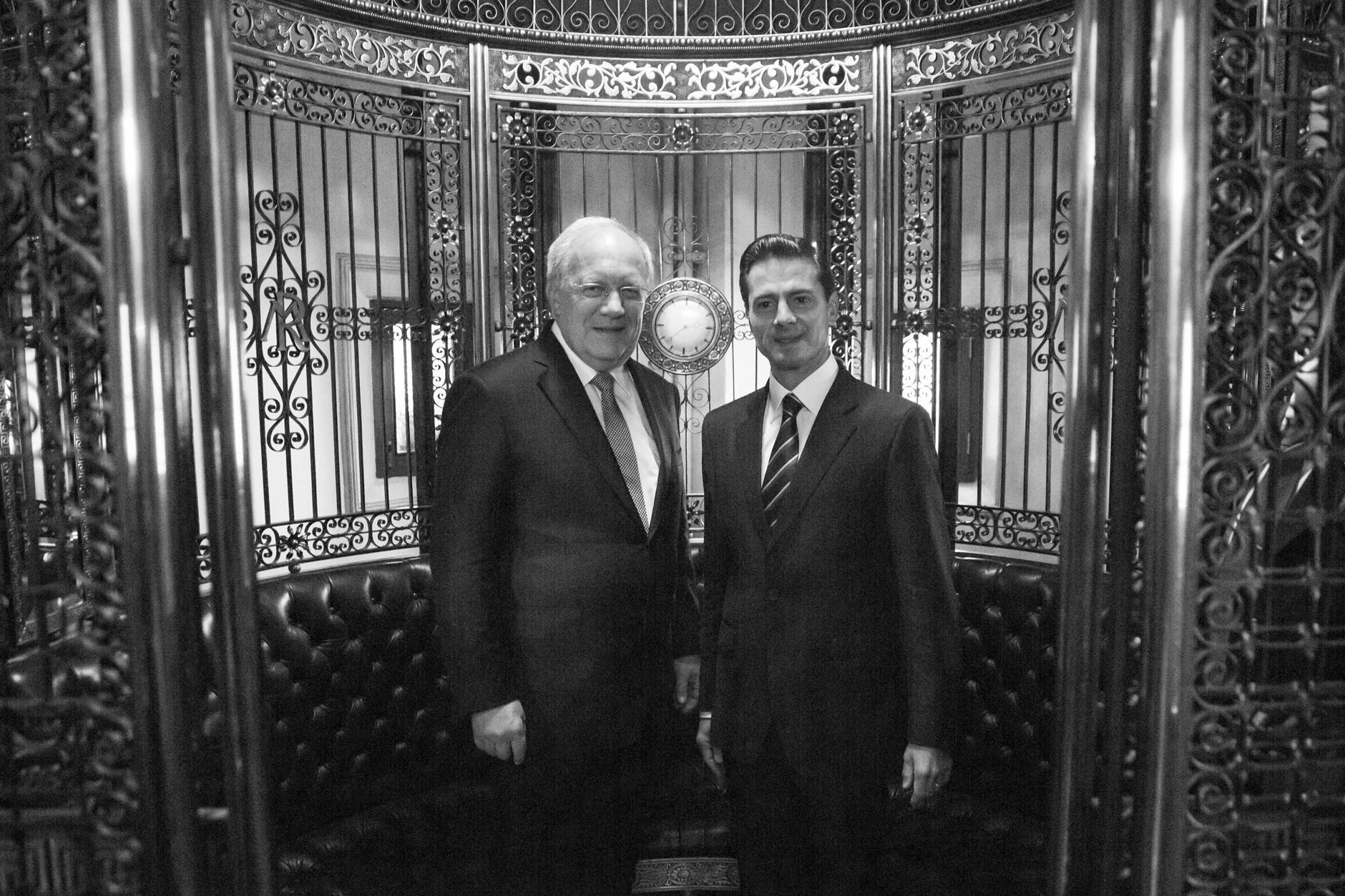 El Presidente de Suiza realiza una Visita de Estado a México, en el marco del 70º aniversario de relaciones diplomáticas entre ambas naciones.
