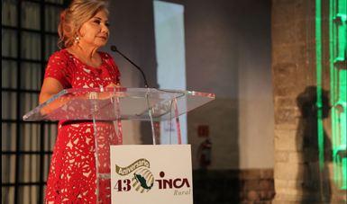 Directora General; Aniversario 43 INCA Rural.