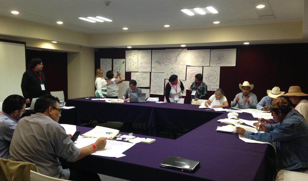Foro Regional Indígena rumbo a la COP13.