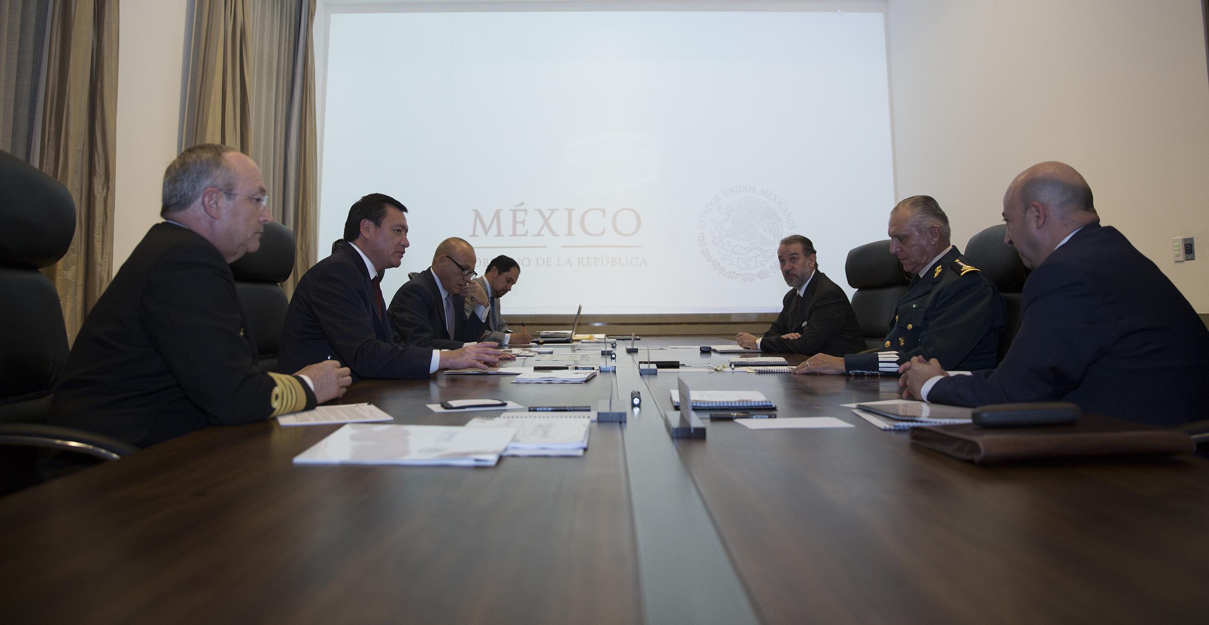 Gabinete de Seguridad se reunió para revisar los avances que se tienen en la materia.