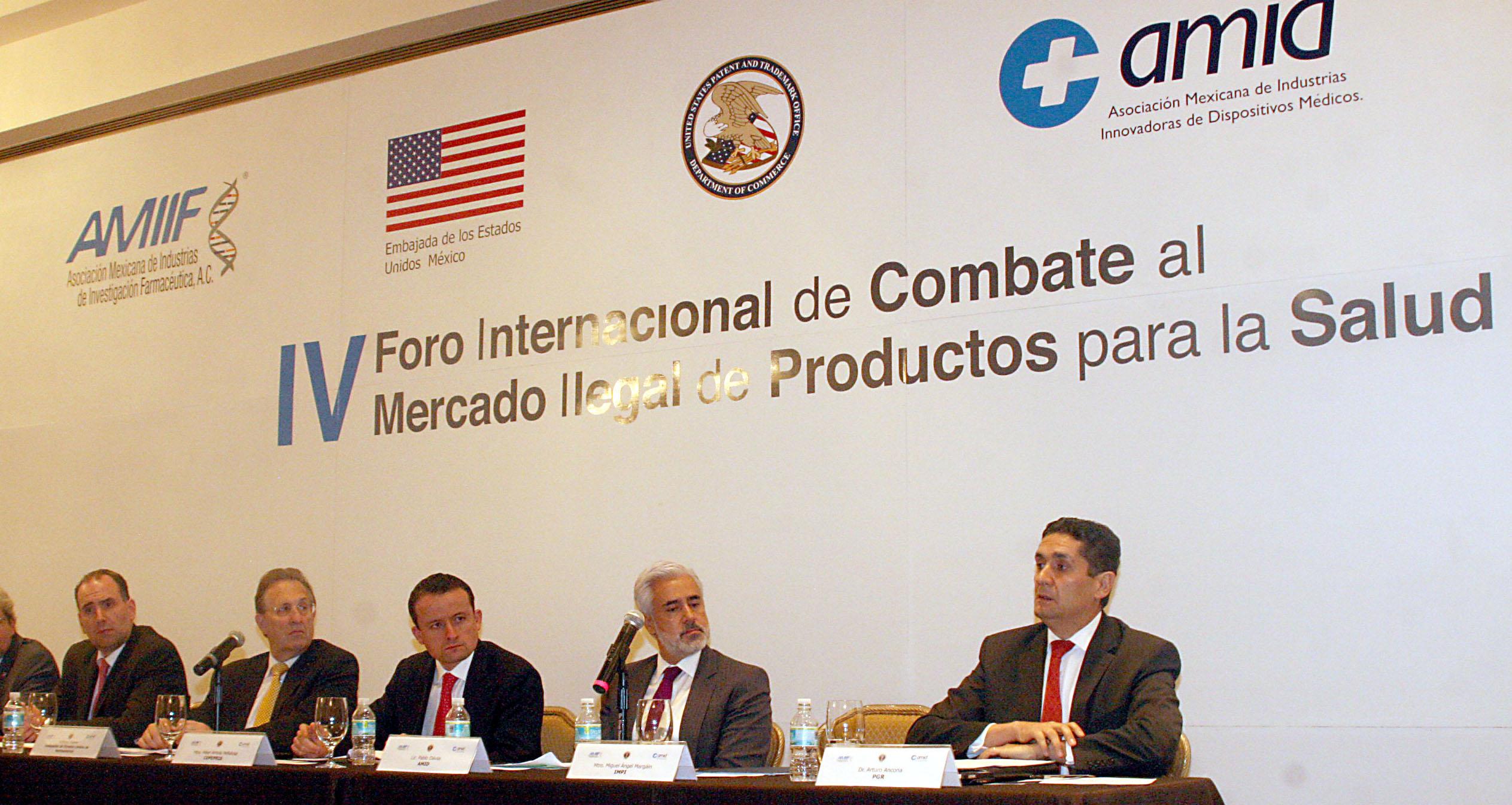 IV Foro Internacional de combate al mercado ilegal de productos para la salud