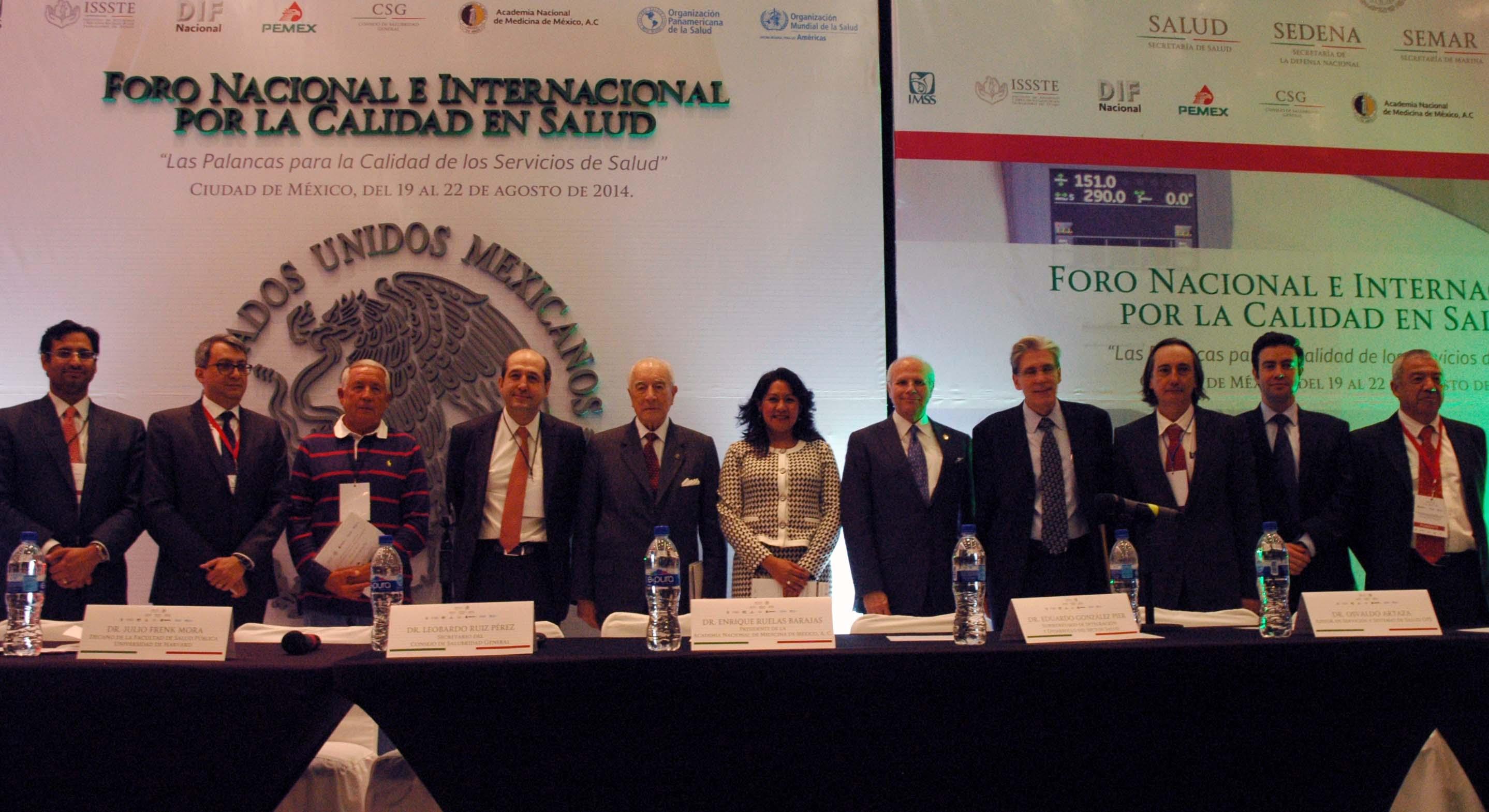 Encuentro Internacional para la Calidad del Sistema Nacional de Salud