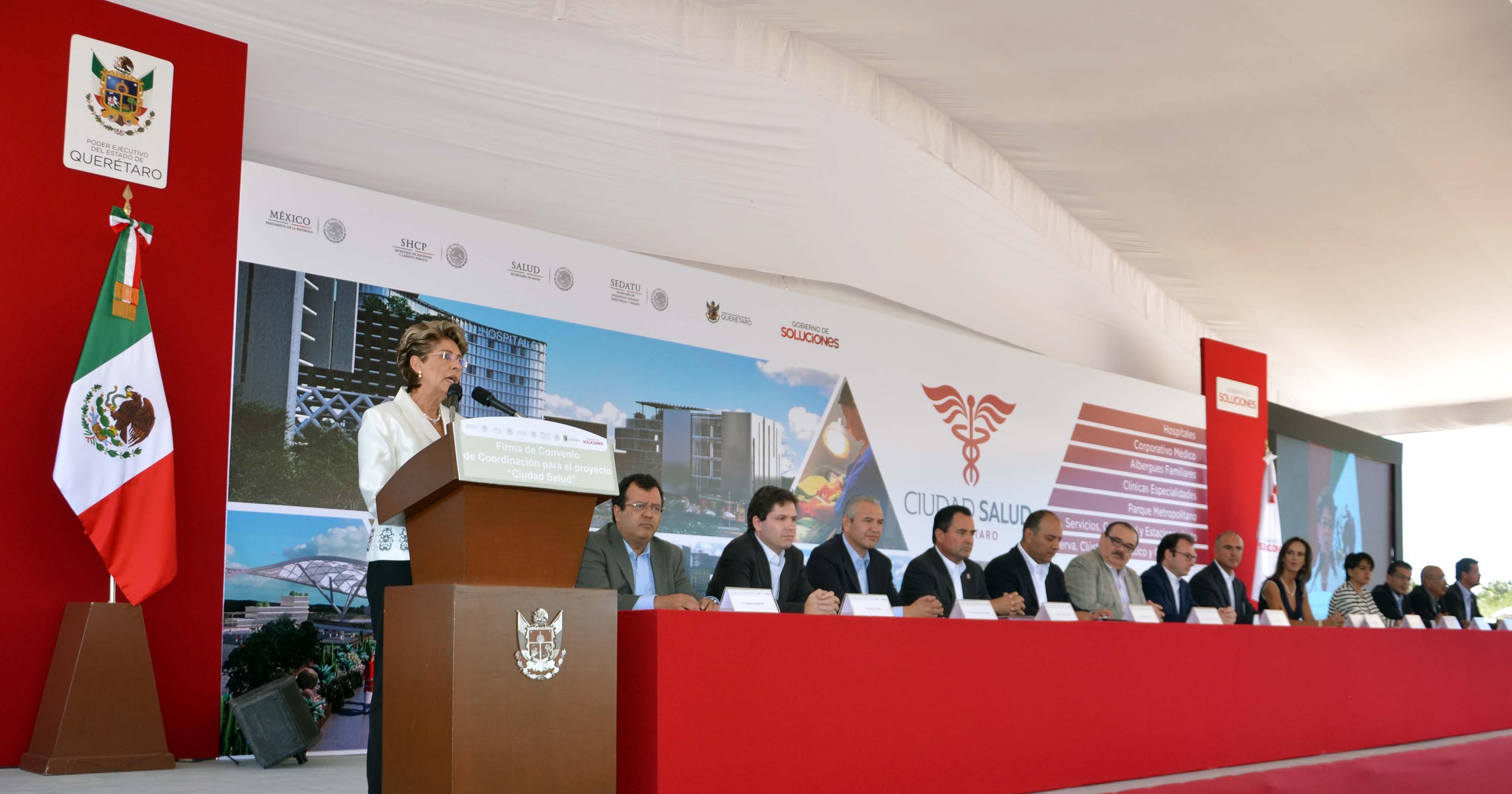 """Inicia proyecto de """"Ciudad Salud"""" en Querétaro"""