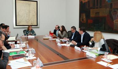 La Canciller se reúne con el Embajador y Cónsules de México en Estados Unidos