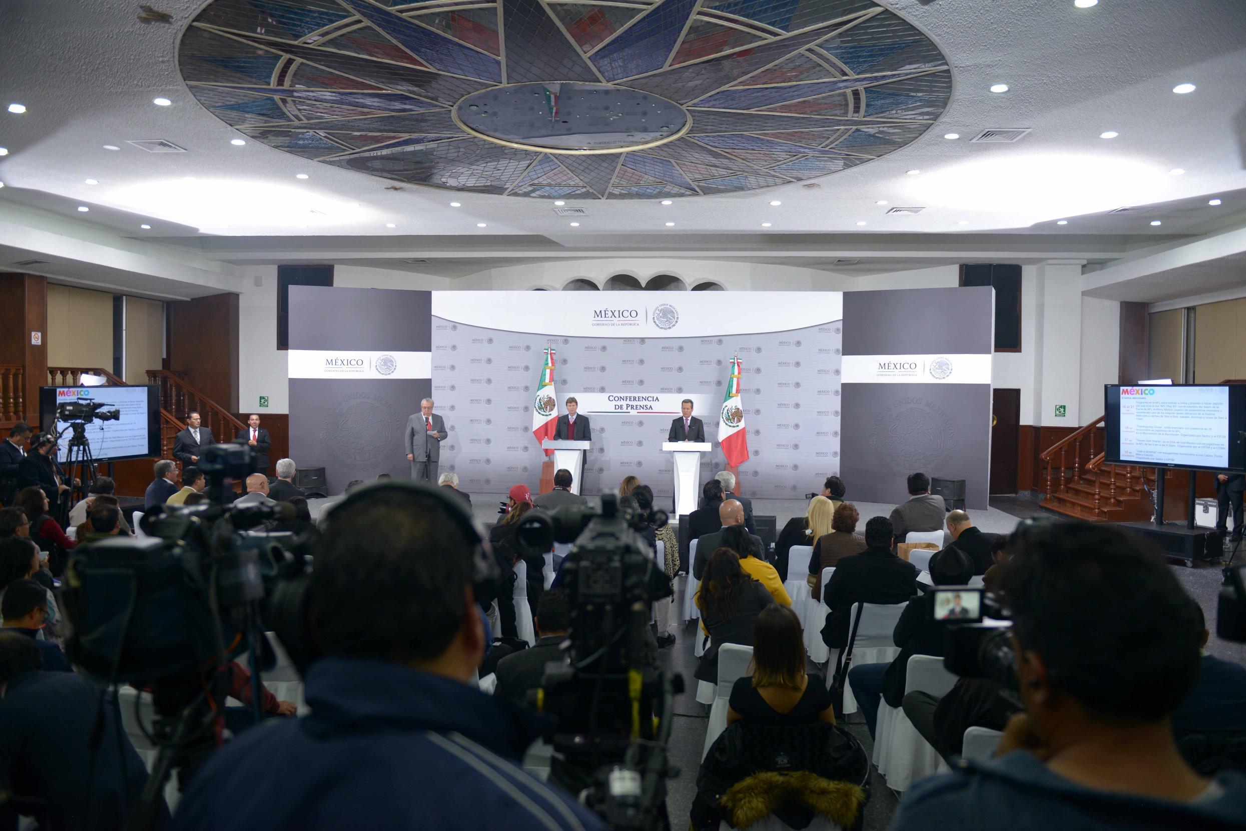 El partido será un escaparate para mostrar nuevamente la gran capacidad de México para atraer y organizar eventos de clase mundial.