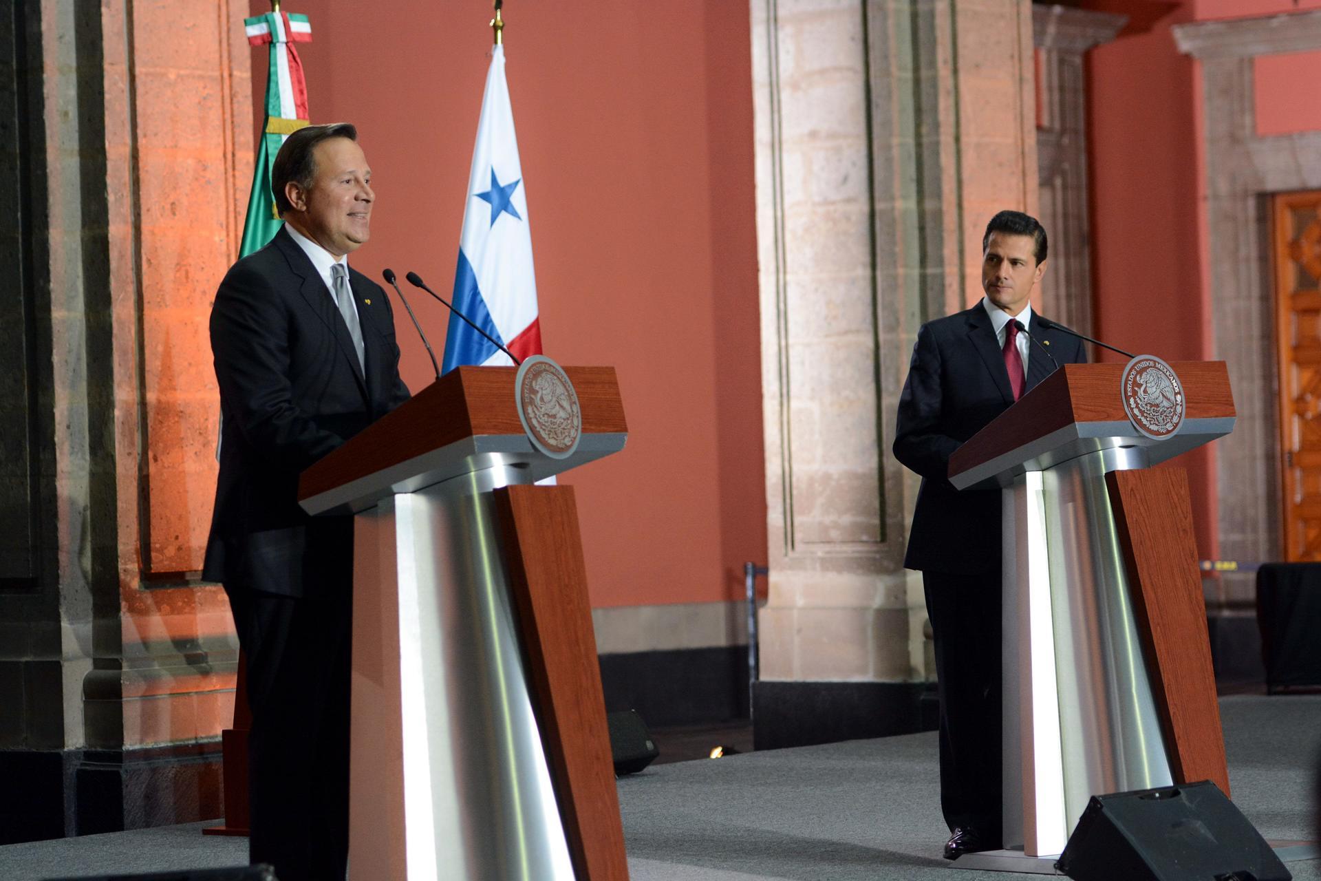 """""""Nos sentimos, Presidente, muy agradecidos con usted, con su Gobierno por los apoyos que ha dado a Panamá en diferentes momentos como la crisis migratoria..."""":  Juan Carlos Varela Rodríguez."""