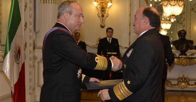 Culmina gira de trabajo del Secretario de Marina por la República de Chile.