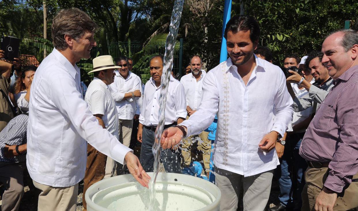 PTAR La Marina beneficiará a más de 67 mil habitantes de Zihuatanejo, Guerrero.