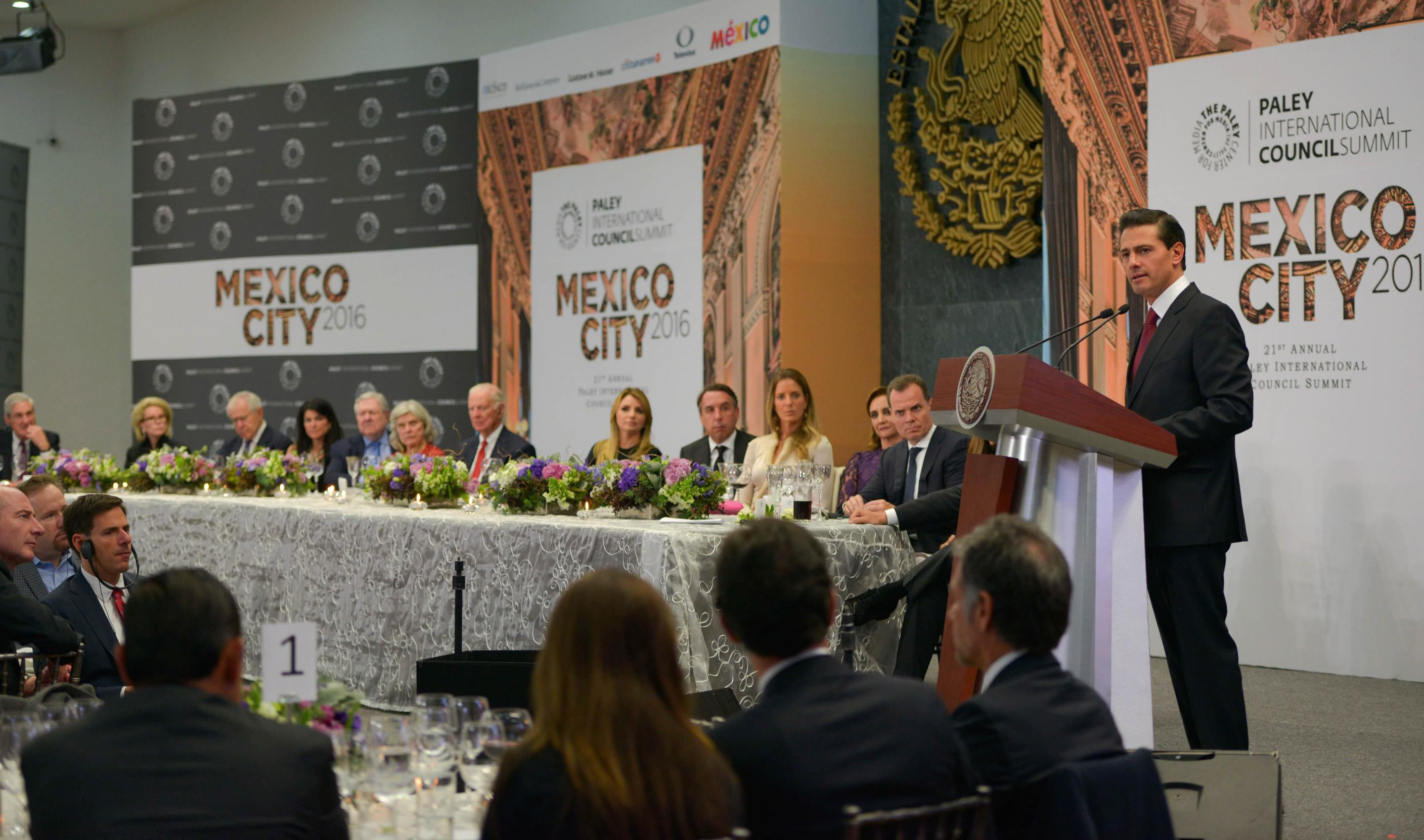 """The key to structural changes, postponed for decades, was the dialogue between political forces"": EPN"