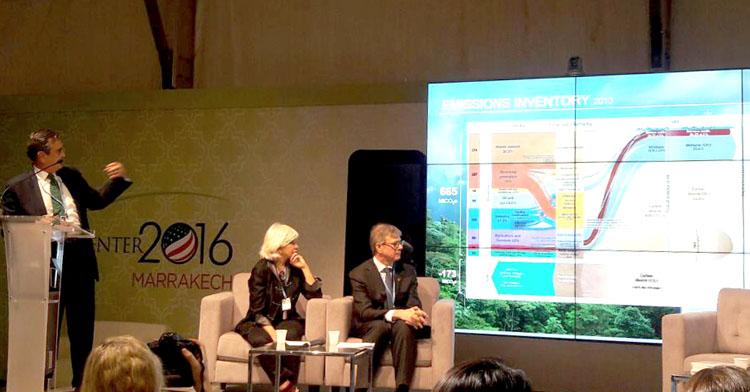 Durante la COP22 México presentó su Estrategia de Cambio Climático al 2050.