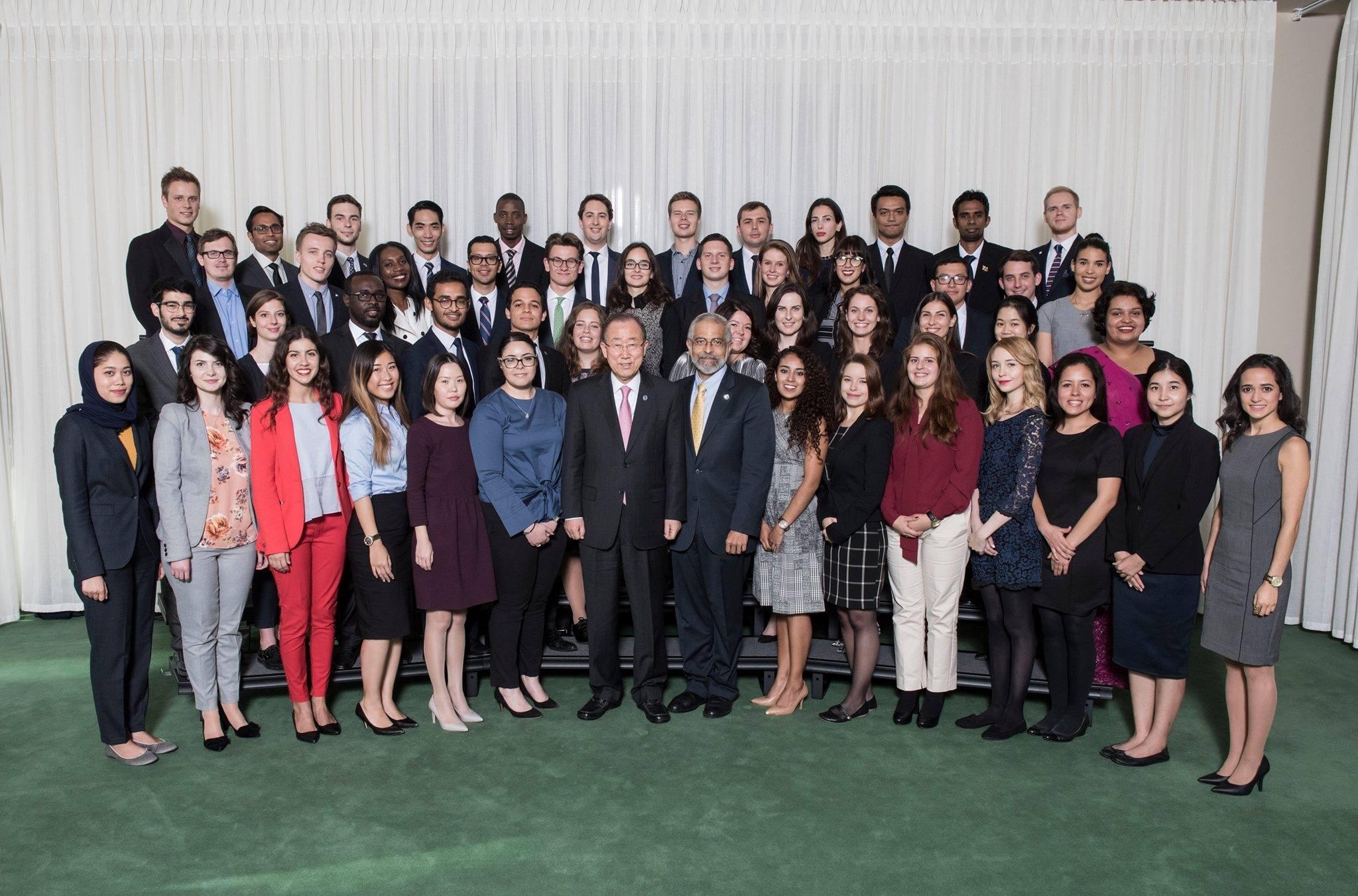 Cuatro jóvenes mexicanas participaron como delegadas juveniles en la 71° la Asamblea General de la Organización de las Naciones Unidas