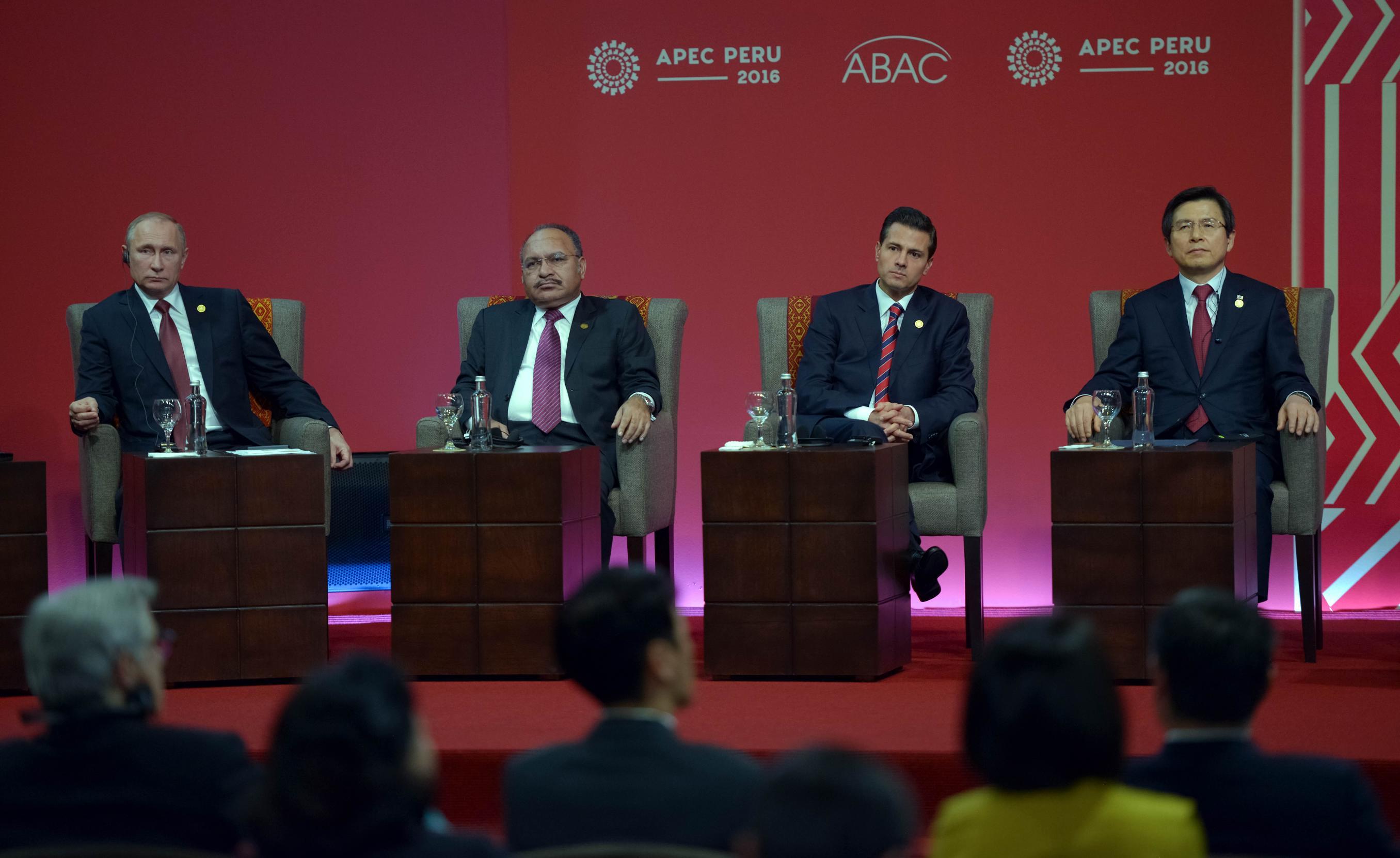 """""""Ahora, más que nunca, el reto es avanzar hacia una integración económica incluyente como mecanismo de prosperidad para nuestras sociedades"""": EPN"""