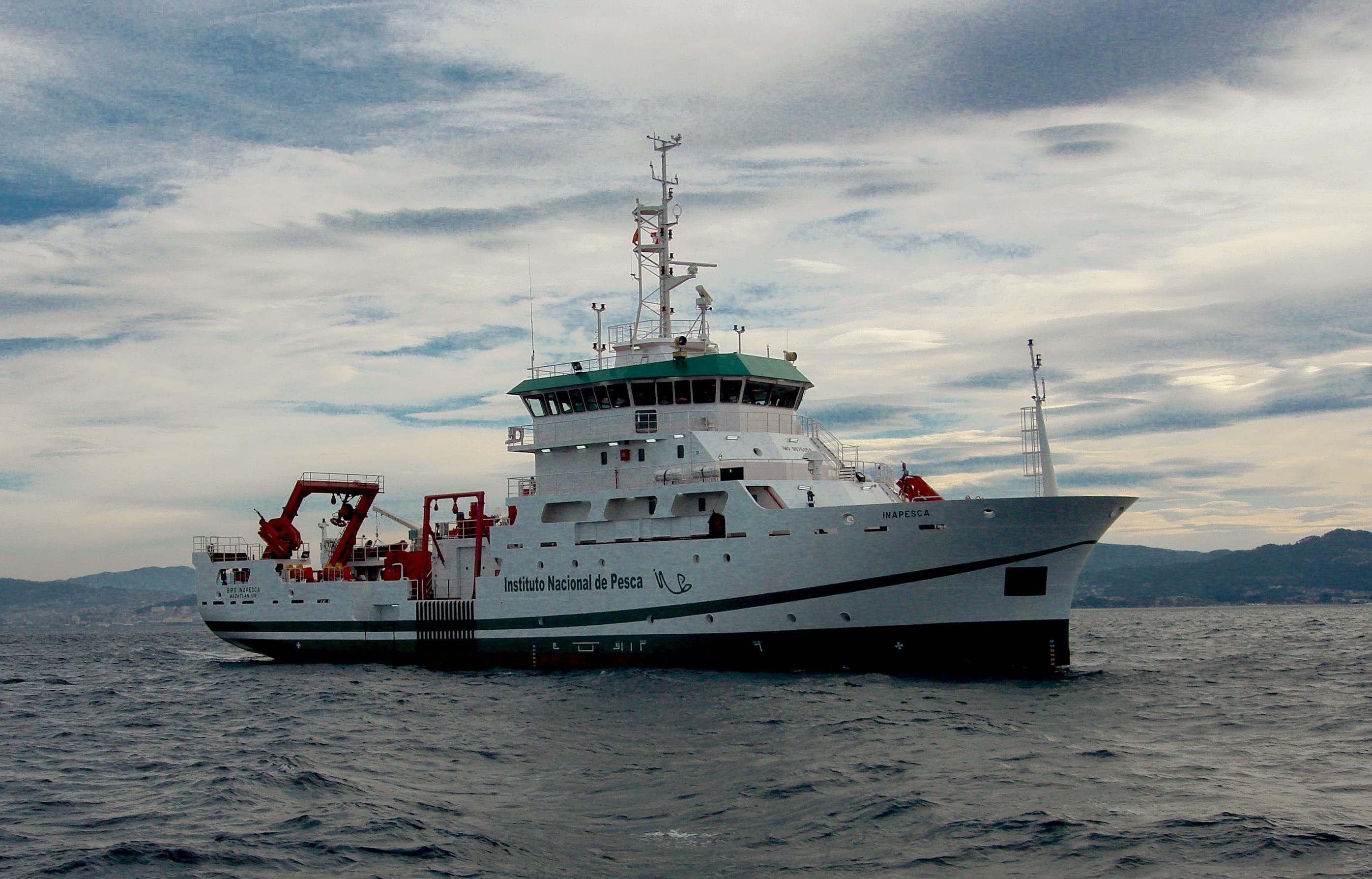 El Instituto Nacional de Pesca (INAPESCA) iniciará este mes los trabajos de investigación en la ex zona de exclusión de la Sonda de Campeche, utilizando tecnología de punta como el Buque de Investigación Marítima (BIM).